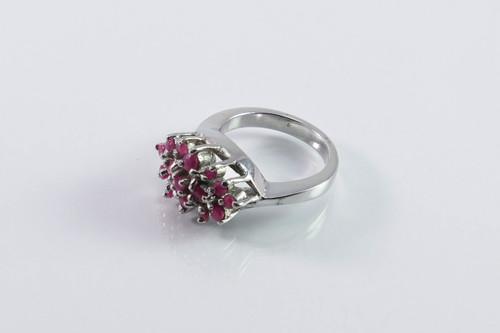 Balinese Ruby Burst Ring