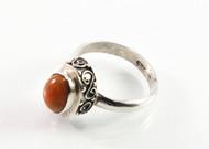 Balinese Ethiopian Opal Ring w/ Filigree