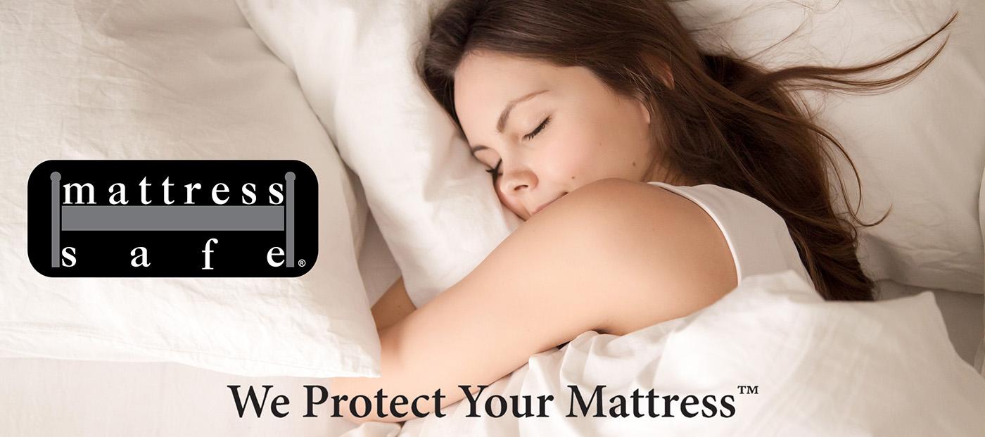 Girl Sleeping Peacefully on Mattress