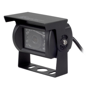 MobileVision C120 | Waterproof Rear View / Backup Color CMOS Camera with Night Vision LEDs - 3/4 View