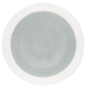 "Magnadyne LS515W | 5-1/4"" 3-Way Speaker (White) - Front View"