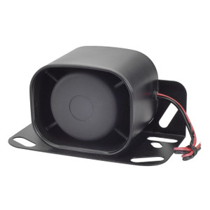 Magnadyne BU3100C-112A | 87dB - 112dB Waterproof Backup Warning Siren - 3/4 View