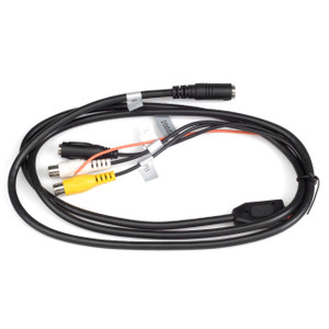 Mobilevision HAR-M30 | M130C Rear Cable AUX input Harness - Full View
