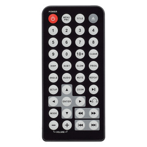 Magnadyne RC-PL7 | Remote for MV-DVD-PL9 - Front View