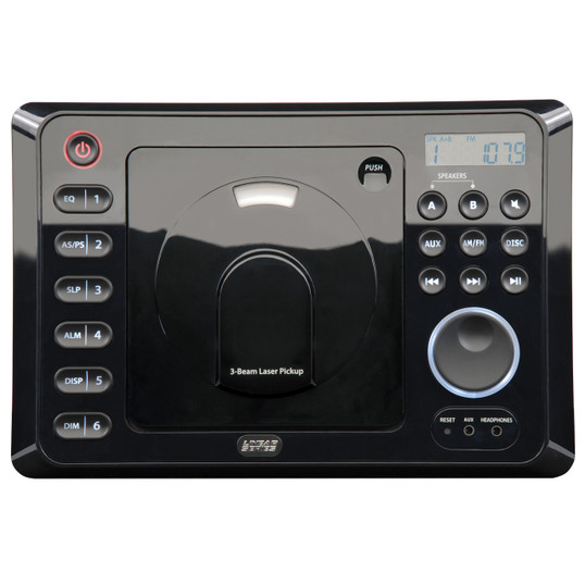 Linear Series RV4000 | Wall Mount AM/FM/CD High Power Receiver - Front View
