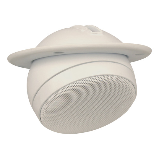 "Magnadyne LS3EYC-WN | 3"" Ceiling Mount Satellite Speaker (White) - 3/4 View"