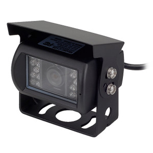 MOBILEVISION C128   Waterproof Rear View Backup Color CCD Camera - 3/4 View