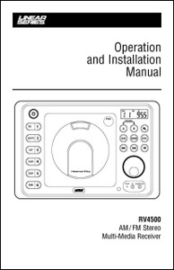 Linear Series RV4500 | Operation & Installation Manual