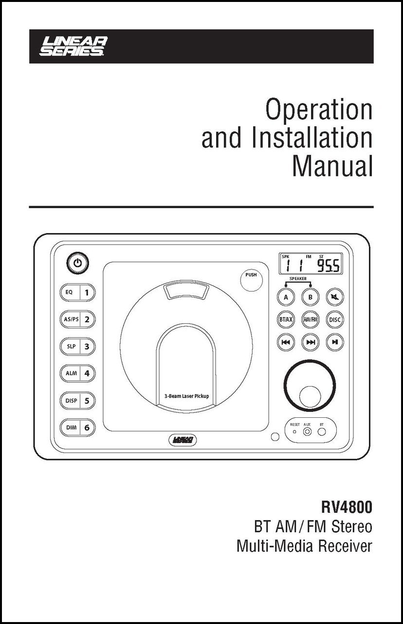 RV4800 User's Manual | Linear Series
