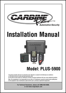 CARBINE PLUS-5900 | User's Manual