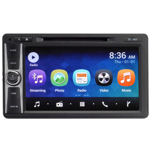 Magnadyne M10 | Touch Screen Multi-Media Receiver with DVD, Bluetooth and WiFi - Front View