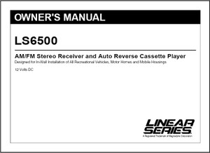 Linear Series LS6500 | Owner's Manual