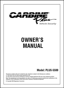 Carbine PLUS-5500 | User's Manual