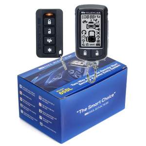 Silencer 65SL | Long Range Two-Way Remote Starter and Full Security System -  - Packaging & Remotes