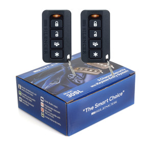 Silencer 30SL   One-Way Remote Security and Keyless Entry System  - Packaging & Remotes