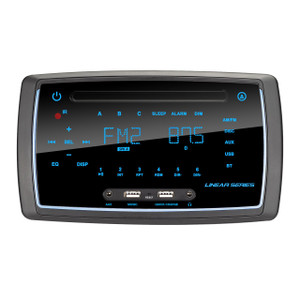 Linear Series RV6200 AM/FM/BT/DVD Wall Mount Multimedia Receiver - Front View