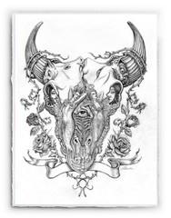 Fantasy Skull [SIGNATURE EDITION 18 x 23]