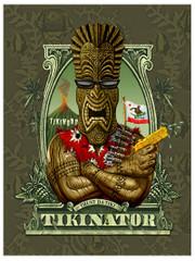 Tikinator [POSTER 24 x 32]