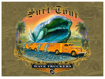 Wave Truckers [Note Card Set of 6]