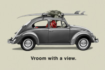 Vroom with a View [POSTER 36 x 24]