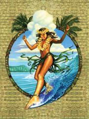 Wave Dancer [Note Card Set of 6]