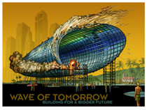 Wave of Tomorrow [POSTER 32 x 24]