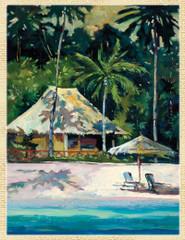 Island Hideaway [Note Card Set of 6]