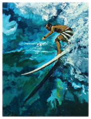 Waimea Drop In [Note Card Set of 6]