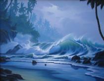 Liquid Thunder [Original Painting]