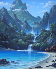 WONDERLAND [Original Painting]