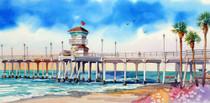 Surf City Pier [PRINT 16 x 8]
