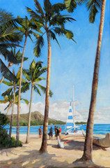 View of Diamondhead [Original Painting]