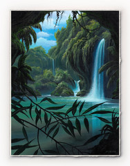 Rainforest Clearing [SIGNATURE EDITION 18 x 23]
