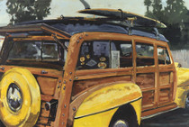 Daniels loves to paint Old Cars and this one caught his artistic eye and he could not help himself from capturing it on canvas.  Yellow Fenders is another beautiful impressionist painting of Daniels unique color palette.  Daniels paints each composition with his own interpretation of reality as he sees the world and for the viewer to grasp that vision he has created with his dramatic palette knife and brush stroke techniques.  Each of Daniel's Tru-Giclee Limited Editions are imaged onto archival canvas utilizing the Giclee imaging process using archival inks.  The piece is un-stretched and is shipped rolled in a tube.
