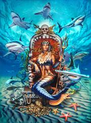 Shark Queen [Note Card Set of 6]