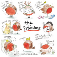 The Robinsons.  £3.95 for pack of 10 cards.  126 x 126mm with gloss finish.  Greeting: Blank Inside.