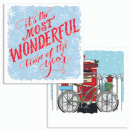 Wonderful time/Bicycle & Post box [Glitter double pack]