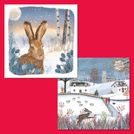Winter Hare/Rustic Winter (Double Pack)