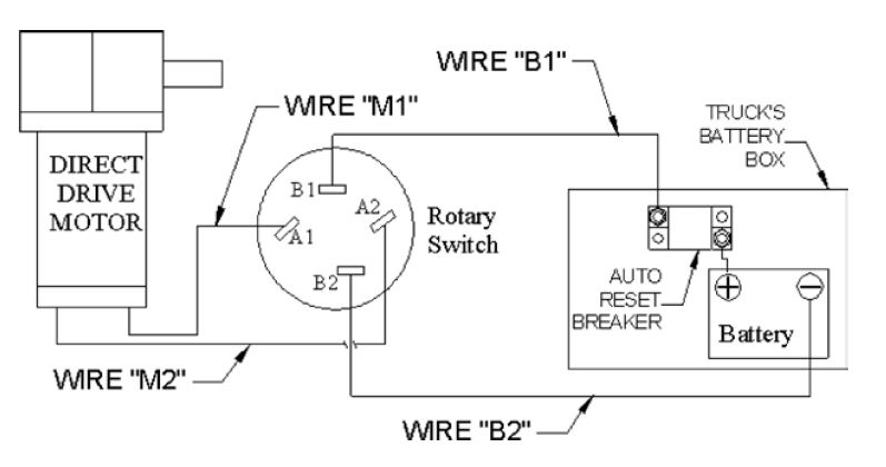 wiring diagram for rotary switch rotary switch kit assembly e tarps com  rotary switch kit assembly e tarps com