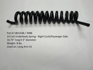 14-Coil Underbody Spring - Right Curb/Passenger Side, Long Arm 41 system (20-3988/1801438)