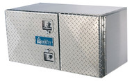 "Tool Box, Double Diamond Plate Door, 18"" X 18"" X 36"""