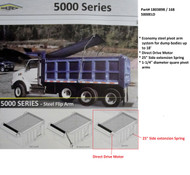 5000ELD™ Dump Truck Roll Tarp System, Complete System (20-168/1803898)
