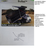 Bullet™ Dump Truck Tarp System, 30 Degree Upper Bent Arms, Complete System (20-2858-1/1801974)