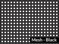7' X 10' F/S Black Mesh Tarp (20-681/1800141)