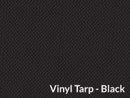 "9'5"" X 22' Black Vinyl Tarp W/Flaps (20-4327/1801611)"