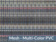 """93"""" X 28' Multi Color Mesh Tarp, W/Reinforcements, No Flaps, (20-2989/1801032)"""