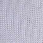 12' X 22' White Maur-Net W/Web Reinforced Hems W/Grommets 24'' Apart