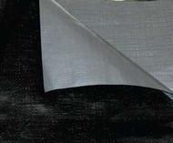 20 X 30  Off-White Flame Retardant 12 Mil Reinforced Poly Tarp W/ Grommets 24 Apart