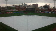 150' X 150' Baseball Outfield Cover, 12 mil Polyethylene (10-TTS-12000-150150S)