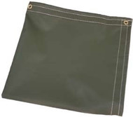 50' X 50' O.D. Temper Tent Tarp W/Rope In Hems W/Grommets 24'' Apart